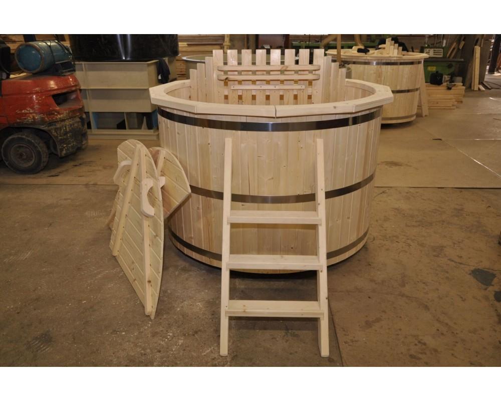 cae034132d13 La tinozza in legno 1600 mm legno abete roso