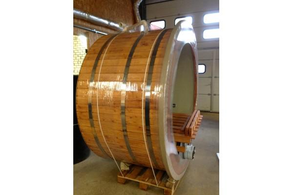 Hot Tub in legno 180  in Legno Larice