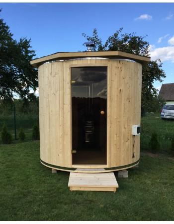 Sauna a botte  in Abete diametro 2.20 cm