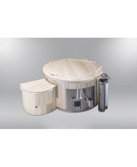 Hot Tubs Royal Wellness Abete con stufa a legna 180 cm