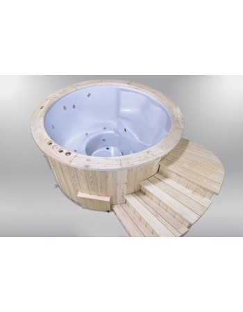 Hot Tubs Royal Wellness Abete con stufa a legna 180 cm