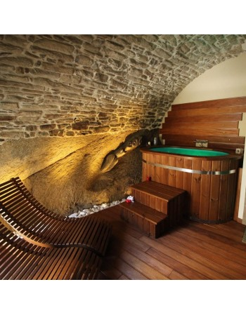 Vasca Ofuro Giapponese in legno Termico 130x0.90x100