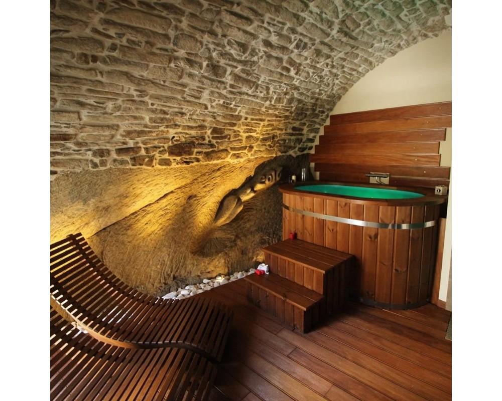 Vasca Da Bagno Ofuro : Vasca due ofuro in legno e polipropilene