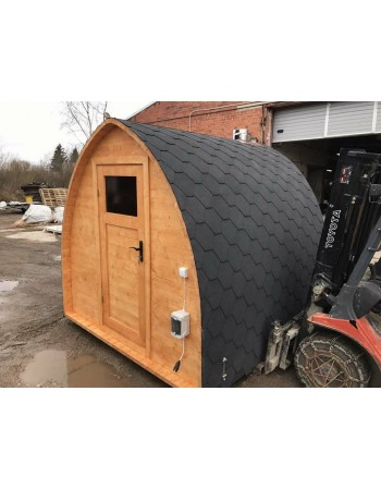 Sauna 3 m....5 m da esterno Igloo scegliete dimensione e altri Extra