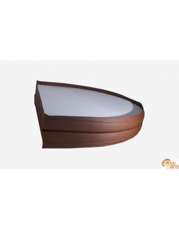 Coperchio della vasca idromassaggio in pelle