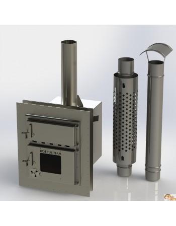 Stufa integrata per vasca in plastica KKI np-01