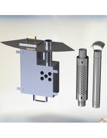 Stufa interna in alluminio KL al-60