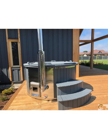 Vasca idromassaggio con forno integrato