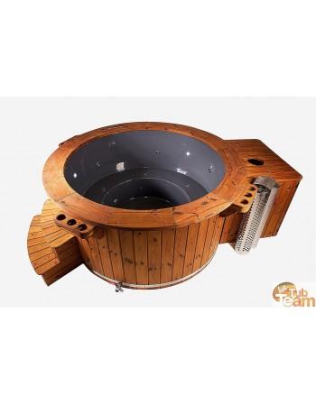 Vasca idromassaggio con riscaldamento a gas