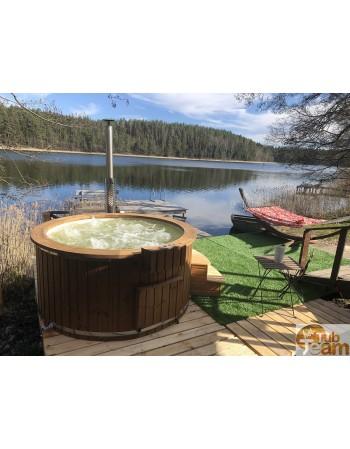 Vasca idromassaggio per campeggio 6-10 persone