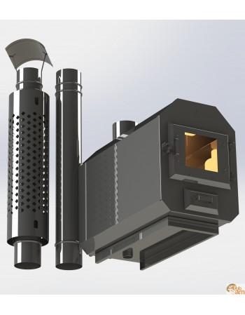 Stufa esterna in acciaio inox KA8 np - 2