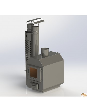 Stufa esterna in acciaio inox MK 525
